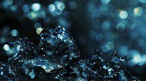 Preview wallpaper liquid, water, splash, glare