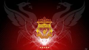Preview wallpaper liverpool, club, football, emblem, star