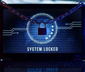 Preview wallpaper lock, system, words, matrix, screen, hacker