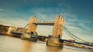 Preview wallpaper london, tower bridge, river, thames