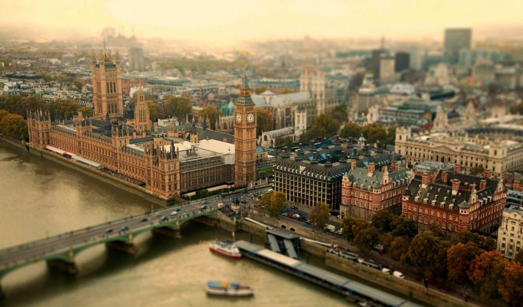 1024x600 Wallpaper london, uk, city, tower bridge