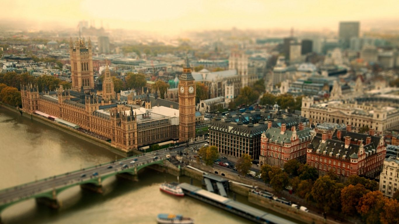 1366x768 Wallpaper london, uk, city, tower bridge