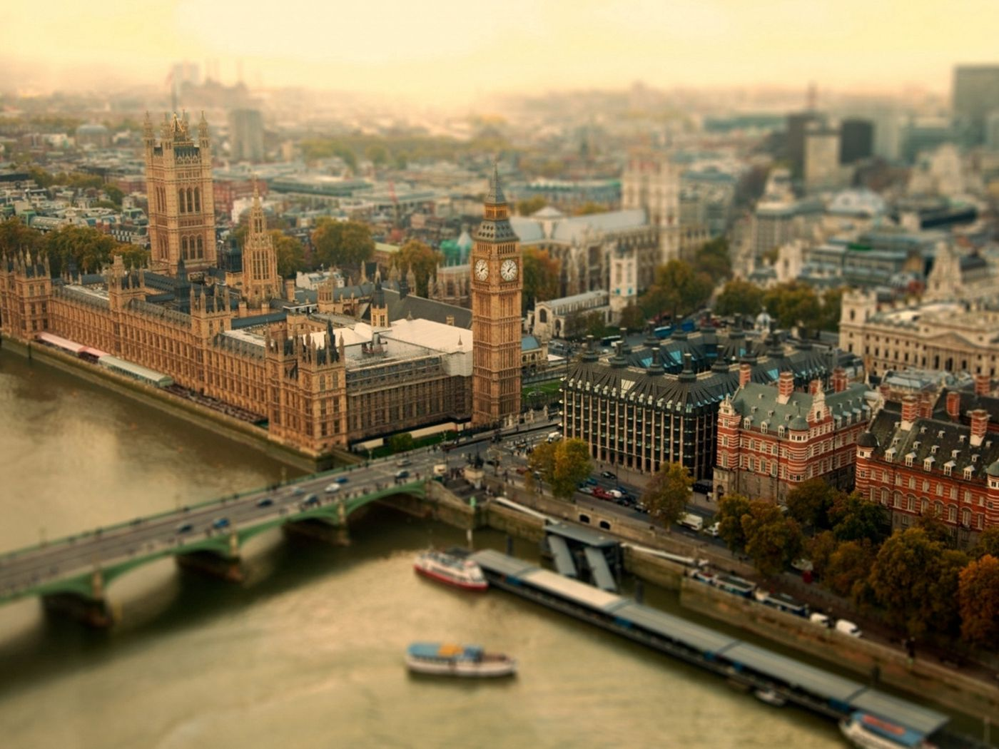 1400x1050 Wallpaper london, uk, city, tower bridge