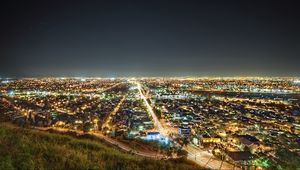 Preview wallpaper los angeles, california, night