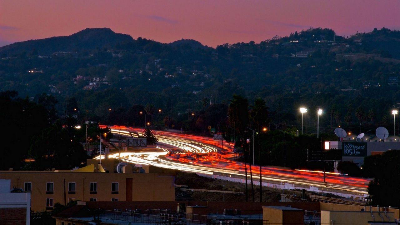 Wallpaper los angeles, california, night, us