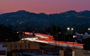 Preview wallpaper los angeles, california, night, us