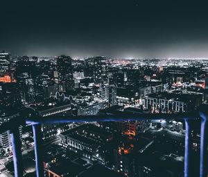 Preview wallpaper los angeles, united states, night city, buildings