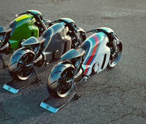 Preview wallpaper lotus c-01, bike, superbike, render