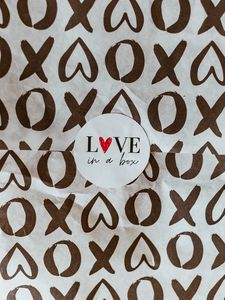 Preview wallpaper love, heart, box, inscription, packaging, gift
