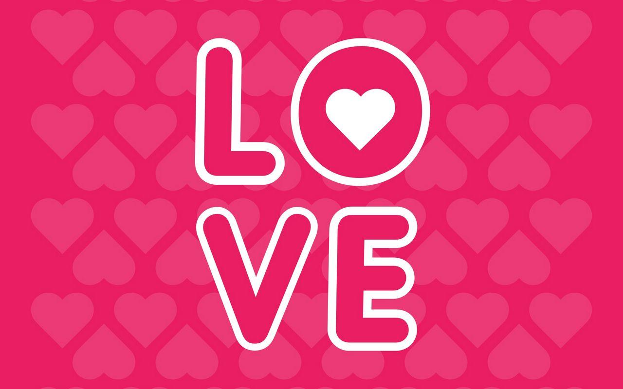 1280x800 Wallpaper love, inscription, hearts