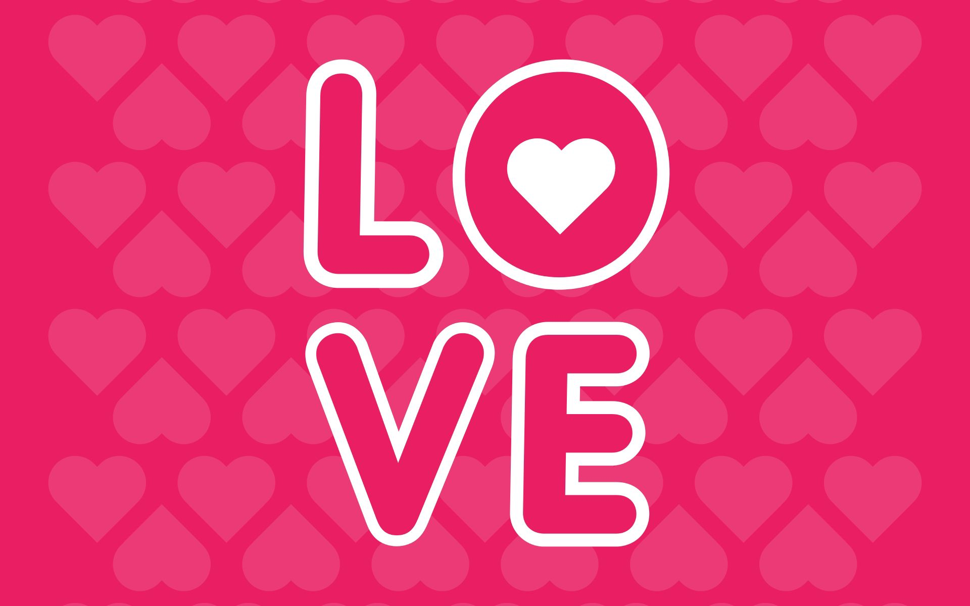 1920x1200 Wallpaper love, inscription, hearts