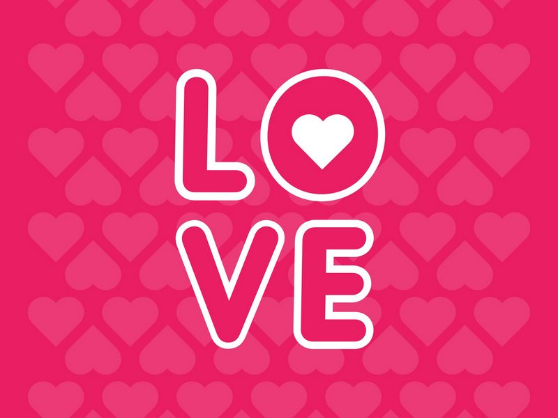 800x600 Wallpaper love, inscription, hearts