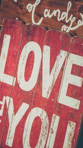 Preview wallpaper love, nameplate, inscription