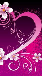 Preview wallpaper love, pink, inscription, recognition