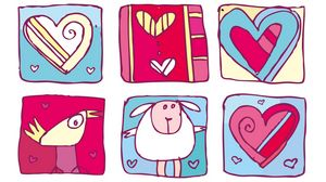 Preview wallpaper love, valentines day, drawing, heart