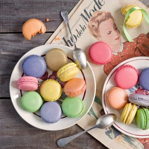 Preview wallpaper macarons, desserts, cookies, colorful