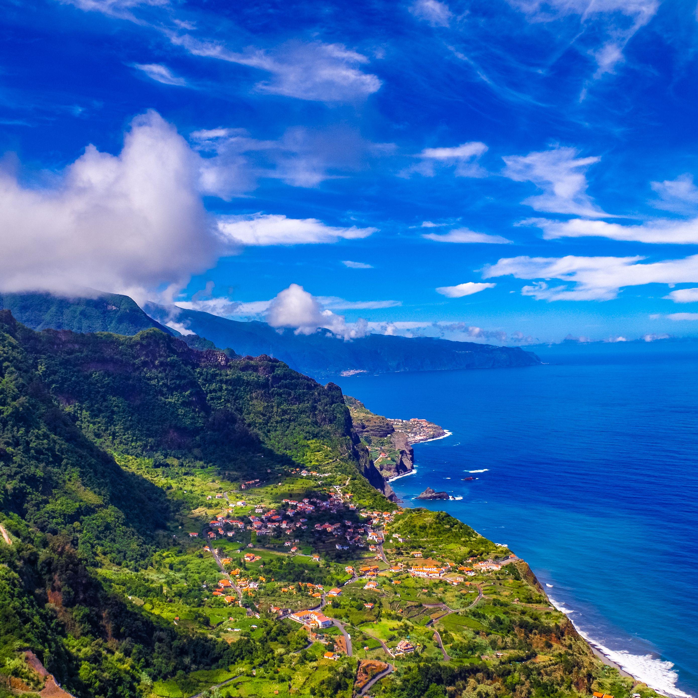 2780x2780 Wallpaper madeira, portugal, island, sea, mountains
