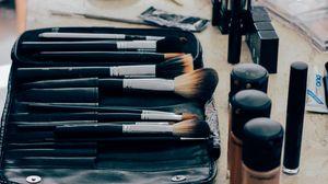 Preview wallpaper makeup, cosmetics, brushes, lipstick