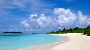 Preview wallpaper maldives, beach, sand, summer