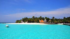 Preview wallpaper maldives, tropical, beach, island