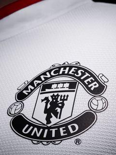 240x320 Wallpaper manchester united, football, logo