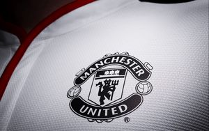 Preview wallpaper manchester united, football, logo