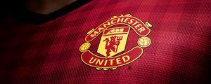 Preview wallpaper manchester united, logo, new set, 2012, 2013, english premier league