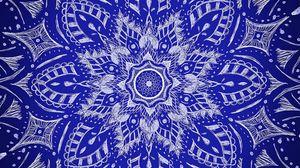 Preview wallpaper mandala, ornament, pattern, hatching
