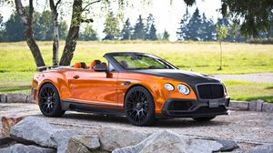Preview wallpaper mansory, bentley, continental, gtc, side view