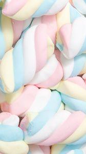 Preview wallpaper marshmallow, spiral, pastel, sweet