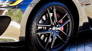 Preview wallpaper maserati, car, wheel