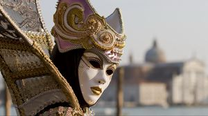 Preview wallpaper mask, outfit, venice, masquerade