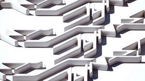 Preview wallpaper maze, plastic, form, figure