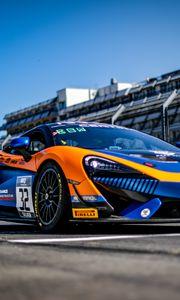 Preview wallpaper mclaren, car, sports car, race