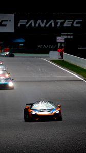 Preview wallpaper mclaren, car, sports car, race, motorsport