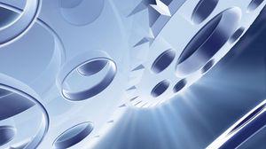 Preview wallpaper mechanism, device, light, brilliance