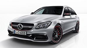 Preview wallpaper mercedes, amg, c63, s, 2014, estate edition, s205, car, side view