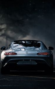 Preview wallpaper mercedes-benz, amg, gt s, 2016, rear view