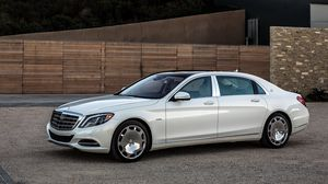 Preview wallpaper mercedes, maybach, s600, us-spec, x222, side view
