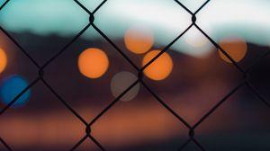 Preview wallpaper mesh, blur, glare, bokeh, circles