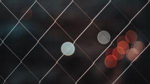 Preview wallpaper mesh, blur, glare, circles, bokeh