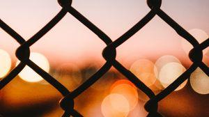 Preview wallpaper mesh, glare, bokeh, blur, light, macro