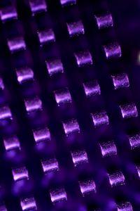 Preview wallpaper metal, glare, purple, dark