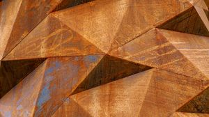 Preview wallpaper metal, iron, rust, surface, texture