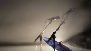 Preview wallpaper microphone, drums, music, concert