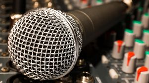 Preview wallpaper microphone, mixer, cable