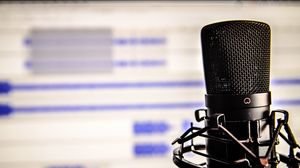Preview wallpaper microphone, studio, recording
