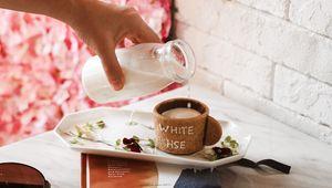Preview wallpaper milk, dessert, cup, hand, books