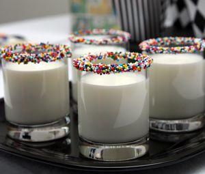 Preview wallpaper milk, sweet, ornament useful