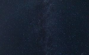 Preview wallpaper milky way, starry sky, stars, space, blue